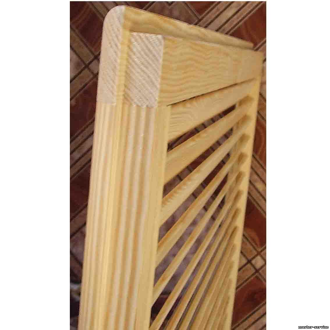 Деревянная решетка на радиатор своими руками